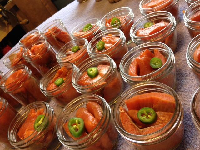 Recipes from Alaska: Salmon Alfredo