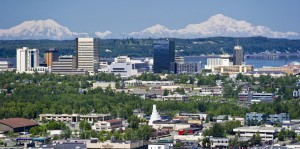 Anchorage-Alaska-Skyline-in-summer
