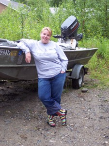 The River Jetboat Ben captained our first summer in Alaska.