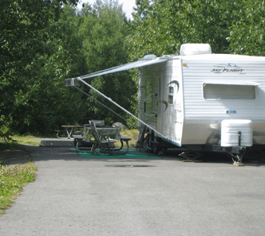 Eagle River Campground Photo courtesy of Alaska DNR
