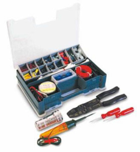 An example of an electrical kit.