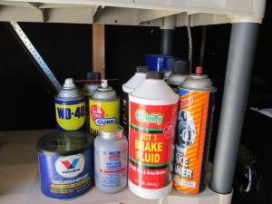 Have you ever needed something and didn't have it?  But, your can picture exactly where it is in your garage?