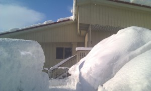 The winter of 2011/2012 we and an amazing amount of snow fall.