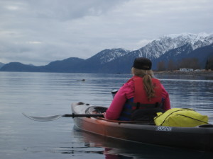 Paddling with sea otters, one of the many experiences you should never take for granted.