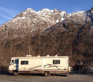There is free camping everywhere in Alaska.