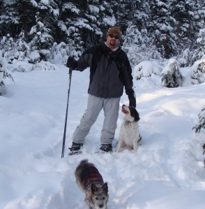 Seward has some great snowshoeing trails.