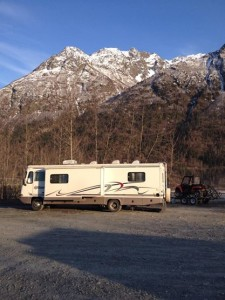 This was our campsite on Easter 2014.