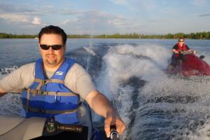 Big Lake Jet Ski Selfie!