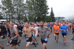 The start of the Men's Race.
